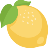 Lemon emoji png. On facebook