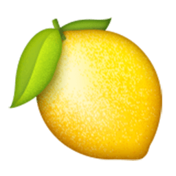 Lemon emoji png. For facebook email sms