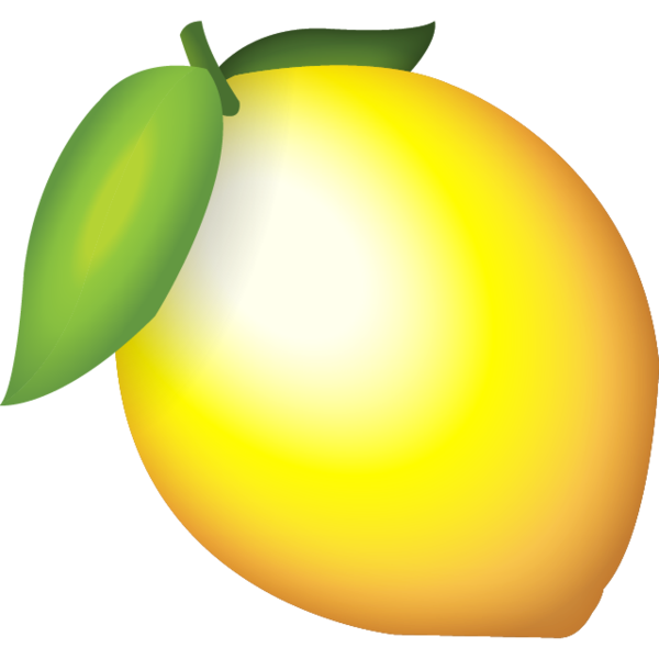 Lemon emoji png. Download icon island