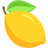 Lemon emoji png. On messenger