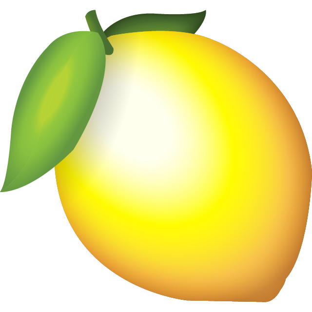 Lemon emoji png. Download icon island ai