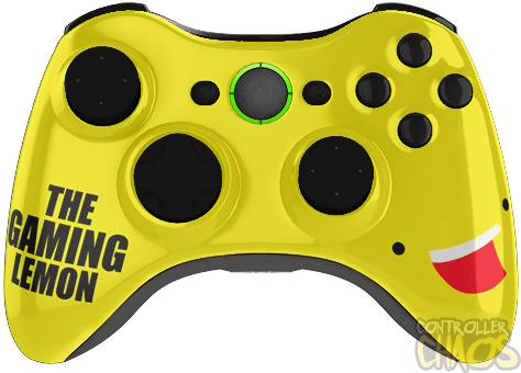 Lemon png gaming. Xbox modded controller chaos