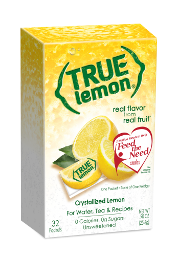 Lemon png real. True crystallized juice packets