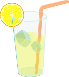 glass of lemonade png