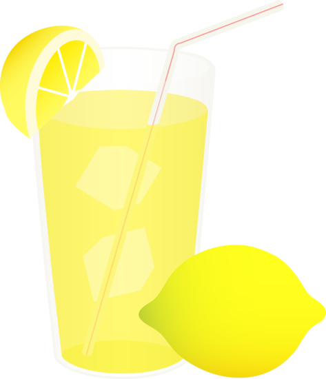 Lemonade clipart lemon soda. Clip art of a