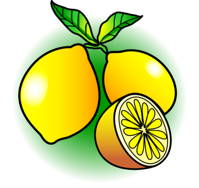 Drawing lemon vintage. Clipart clipartaz free collection