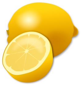 limon vector lemon peel