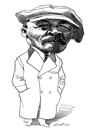 Lenin drawing illustration. Pin by mitchell jewell