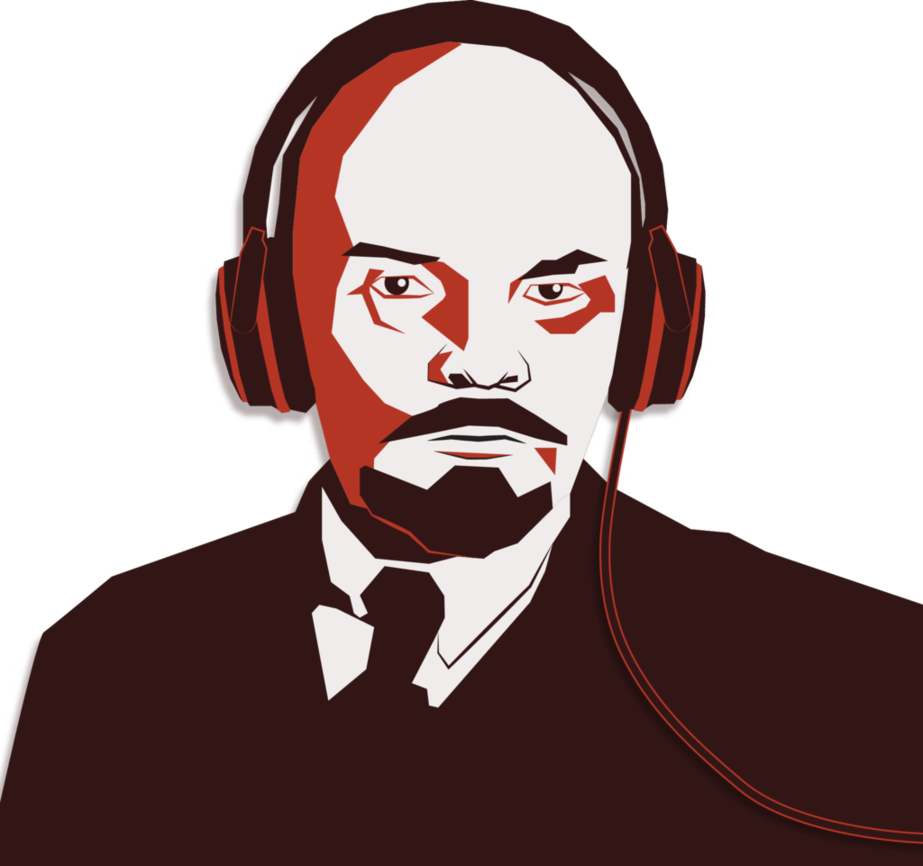 Lenin drawing pop art. Commusicians by saphaerius on