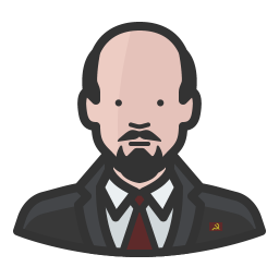 Lenin drawing suit. Vladimir icon free avatars