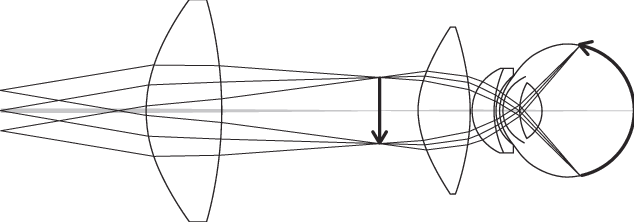 Lens drawing contact. An integrated multielement wide