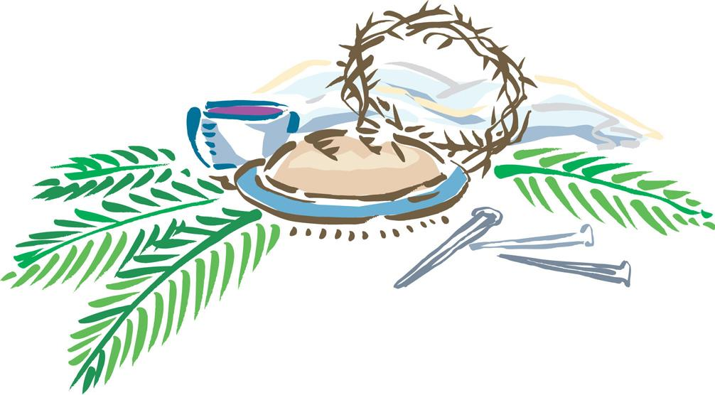 Lent clipart holy thursday. Week and easter at