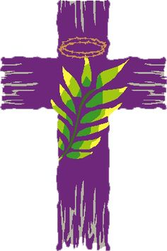 Lent clipart purple easter cross. A time of remembering