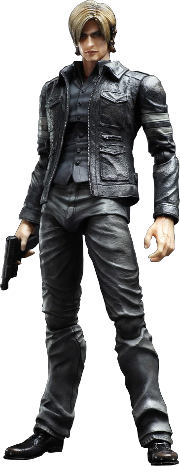 Leon resident evil png. S kennedy play arts