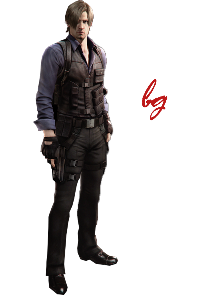 Leon s kennedy png. Render by badgirl on
