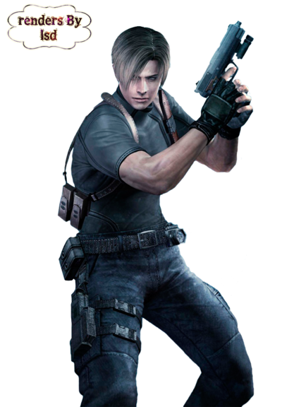 Leon s kennedy png. Transparent arts