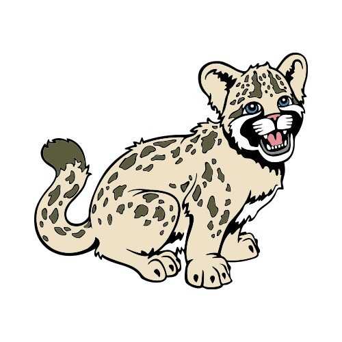 Leopard clipart clouded leopard. At getdrawings com free