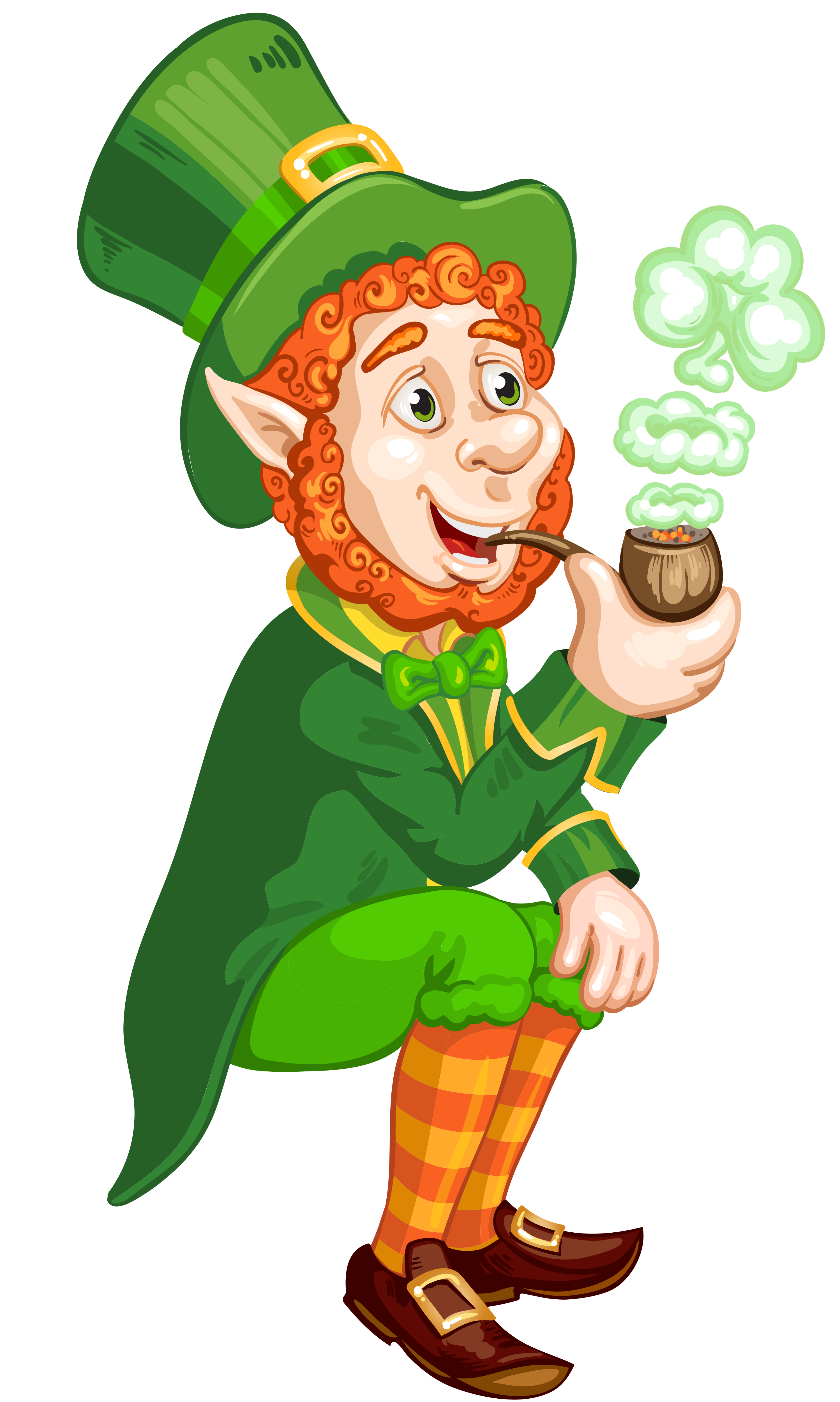 Leprechaun clip art png. St patrick day transparent