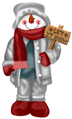 Let it snow png. Snowman clipart gallery yopriceville