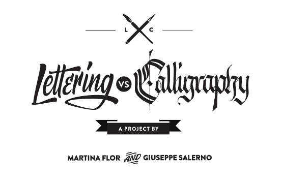 Lettering versus she draws. D transparent calligraphy banner stock