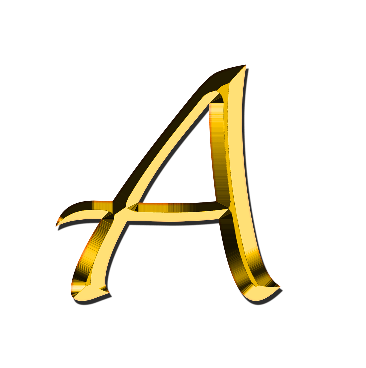 capital letter a png