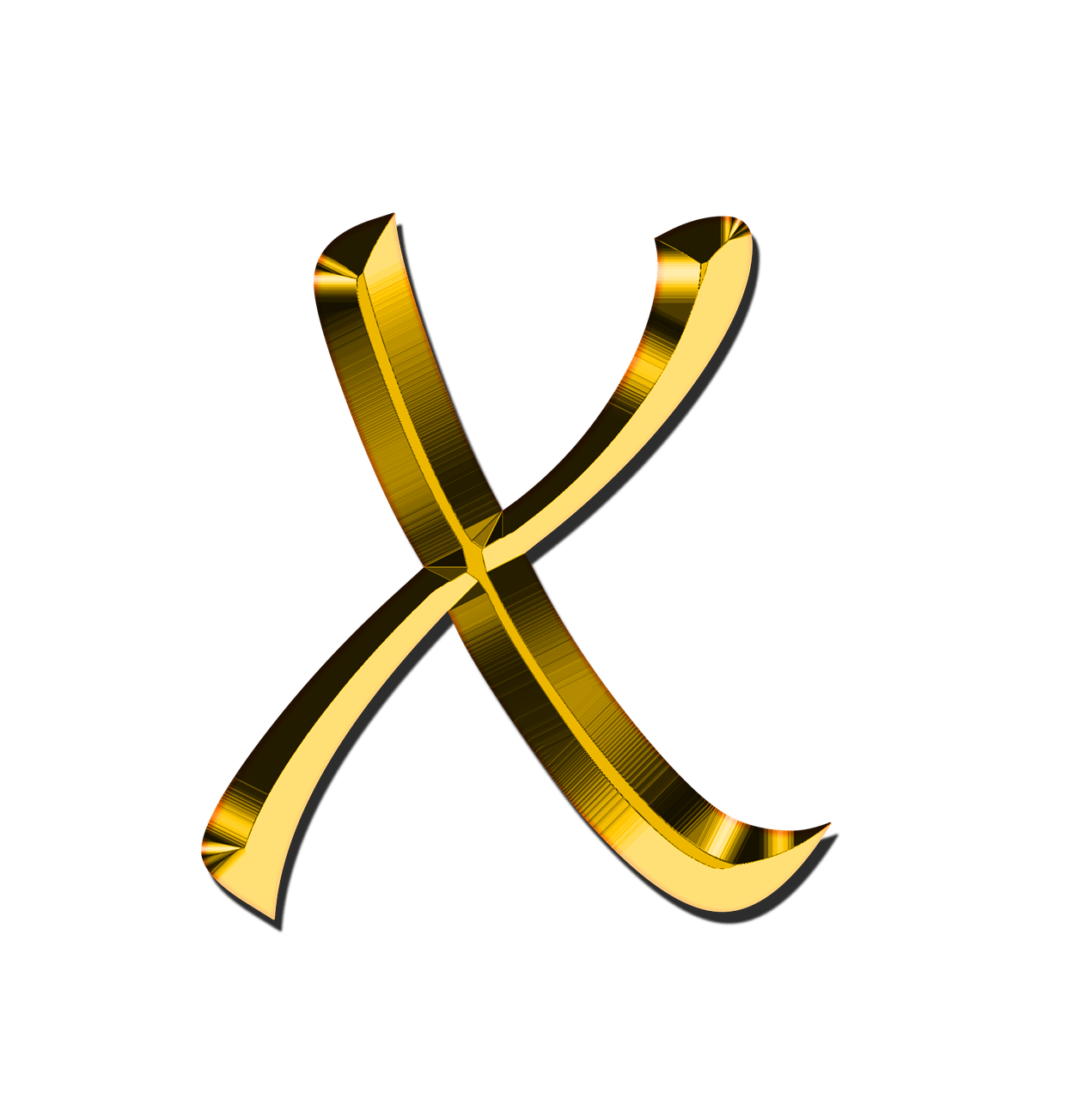 The letter x png