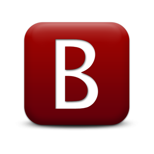 Letter b logo png. Save icon format free