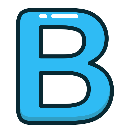 Letter b png. Picture arts