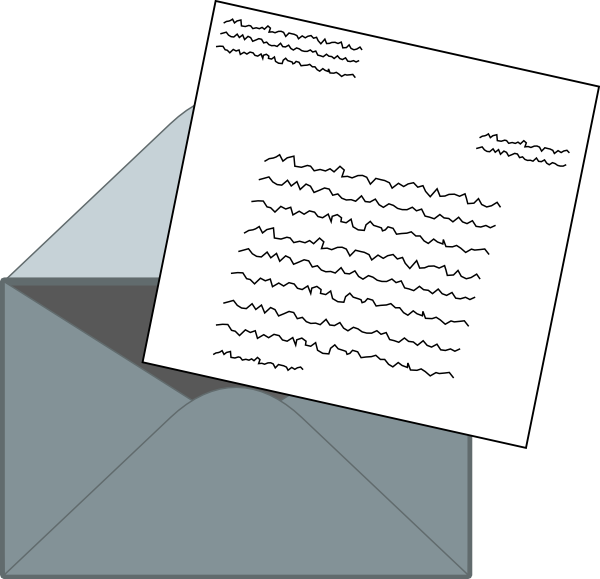 Letters mail png. Letter clip art at
