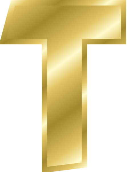 gold letters png images