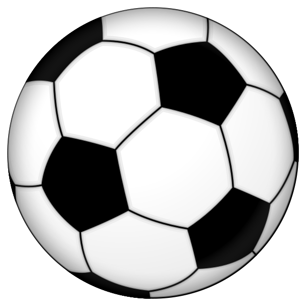 Soccer ball clipart big. Printable group picture image
