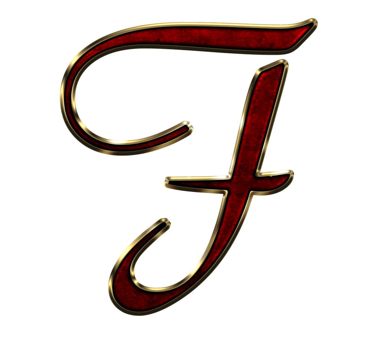 Letter f png. Capital red transparent stickpng