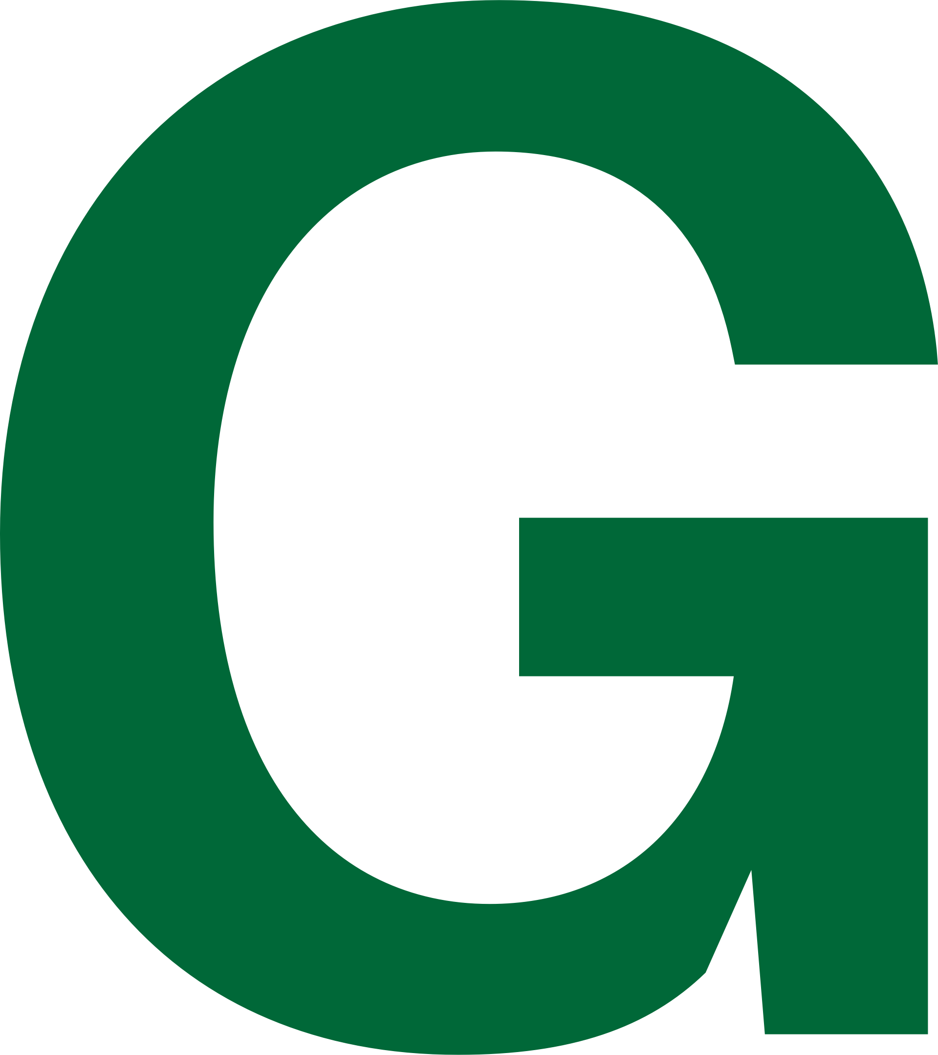 Transparent g big letter. Green icons png free