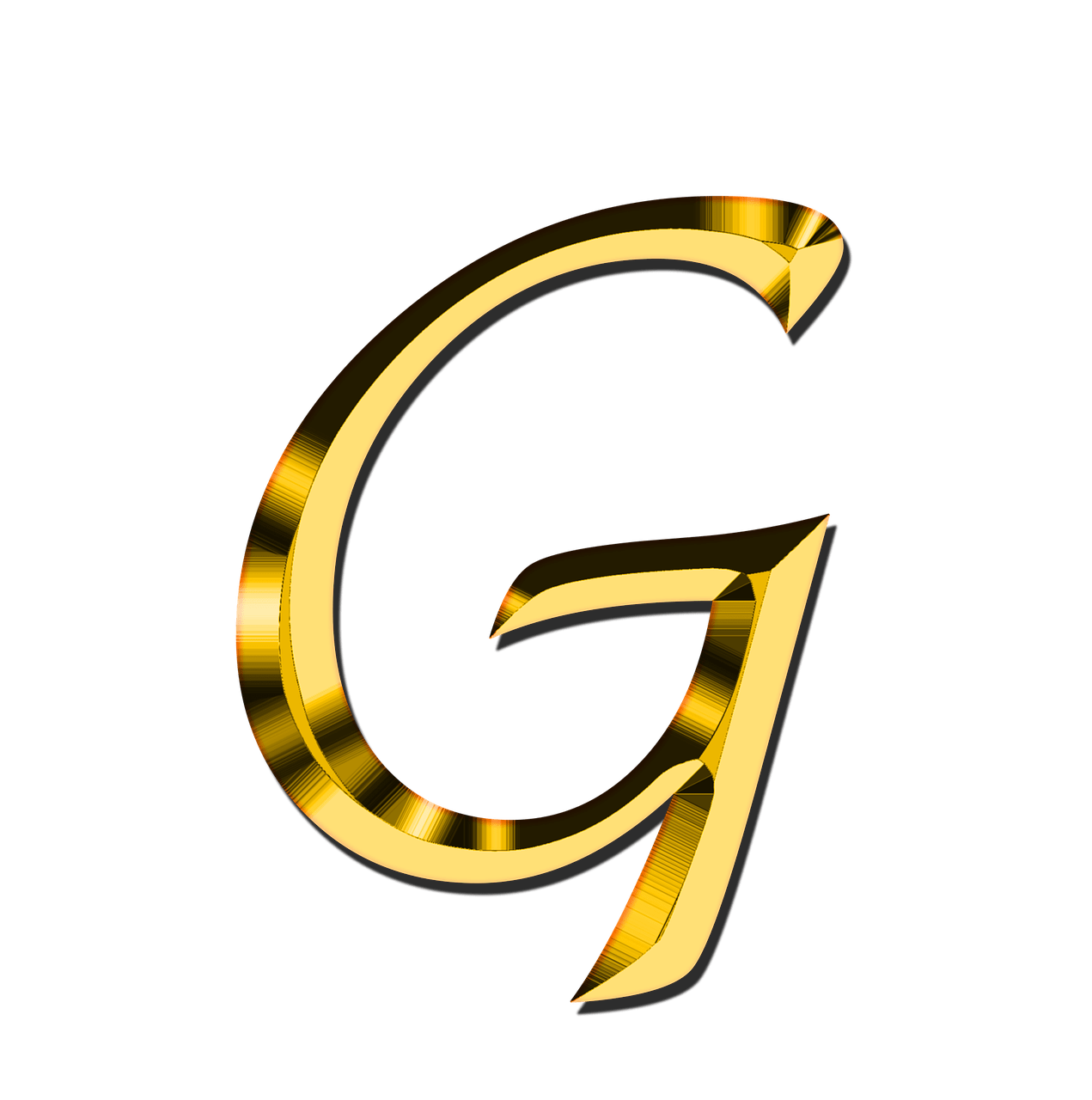 Letter g png. Capital transparent stickpng