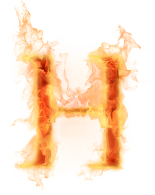 Letter m fire png. Alphabet soup h for