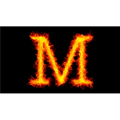 Letter m fire png. Stock footage on roblox