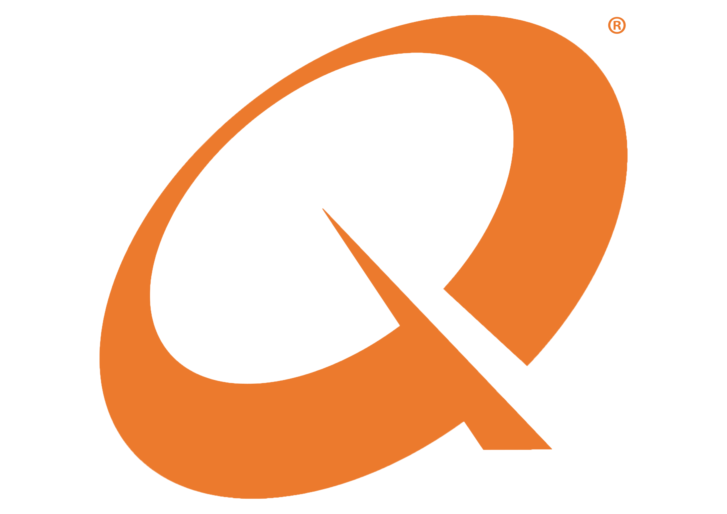 Letter q png. Image with transparent background