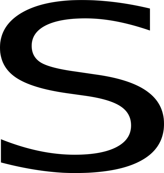 Letter s png. Image