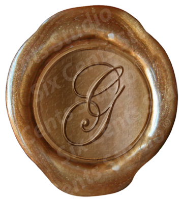 Letter seals png. Ws olde english wax