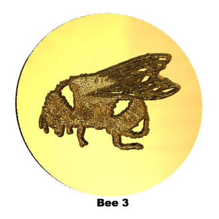 Letter seals png. Animal nature themed wax