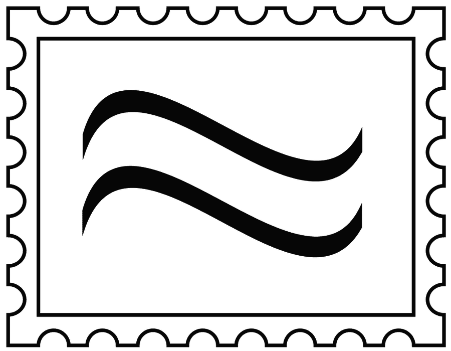 Letter stamp png. Collection of u