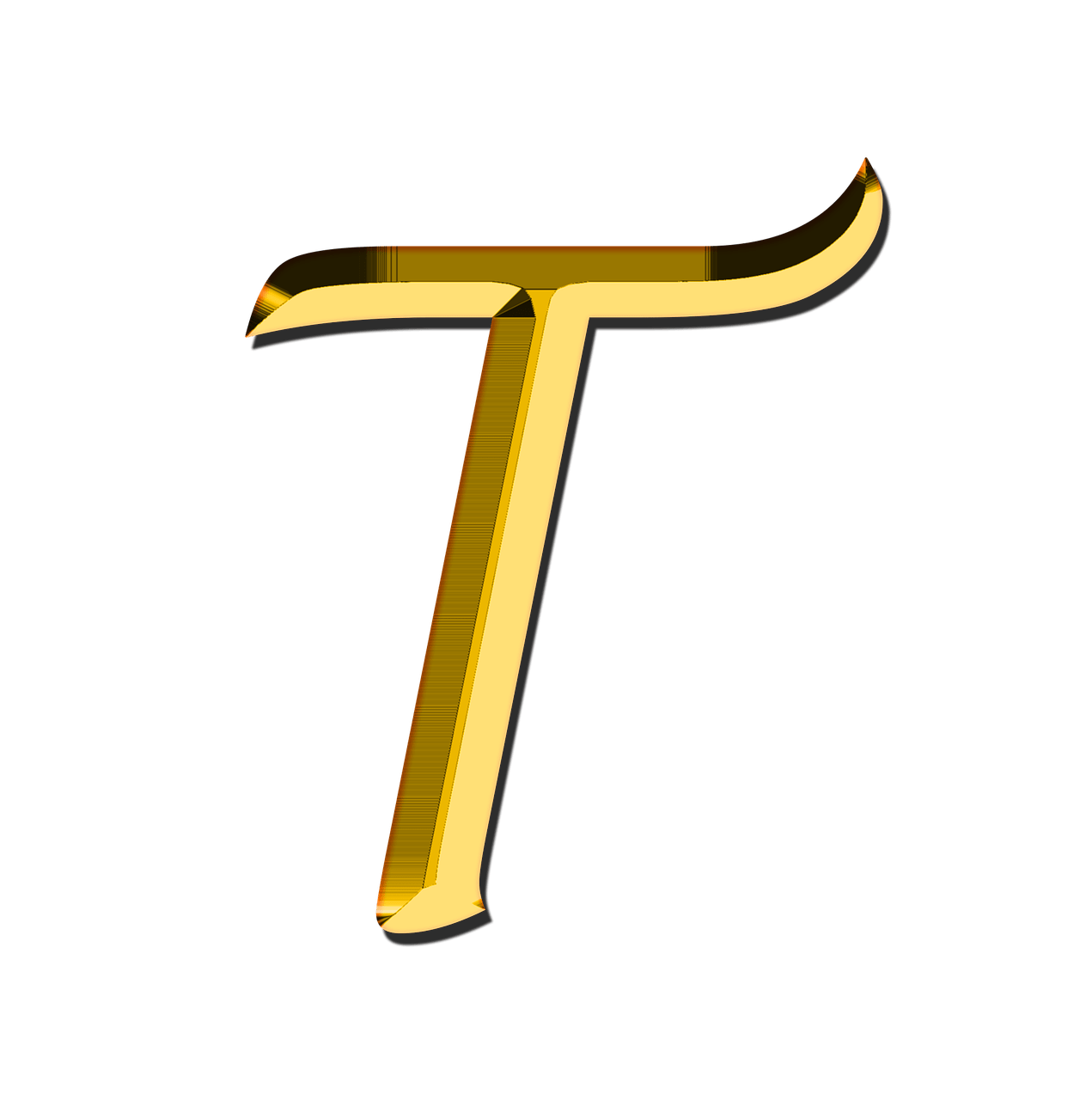 T transparent. Capital letter png stickpng