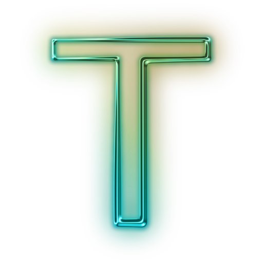 T transparent. A to z alphabet