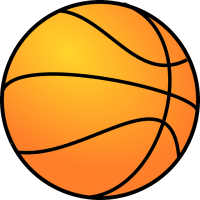 Letters clipart basketball. Motif for sophie