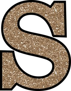 Letters clipart glitter. Without the glue free