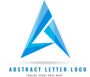 Letters vector abstract. Letter logo ai free