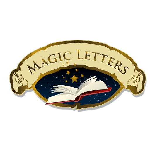 Magic logo transparent png. Letters vector stylish clip art free stock