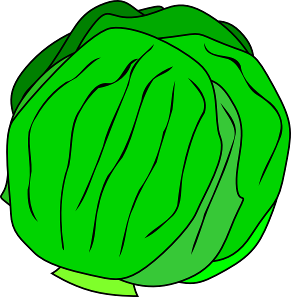 Lettuce clipart. Whole clip art at