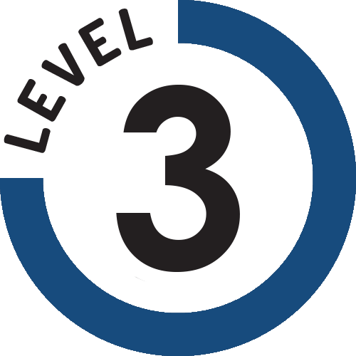 Level 3 logo png. First line response