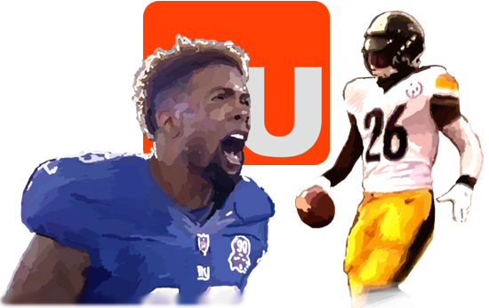 Le'veon bell png. Todd gurley odell beckham
